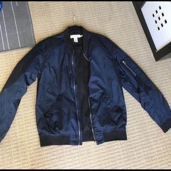 ecd9ff5ec MENS Blue bomber jacket
